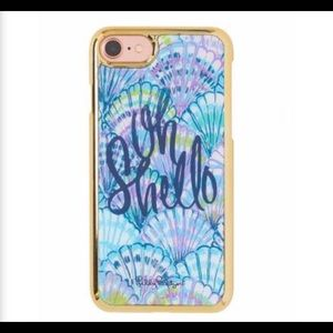Lilly Pulitzer Accessories - New in Box Lilly Pulitzer IPhone 7 Case